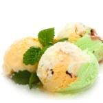 Assorted ice cream — Stock Photo #10028864