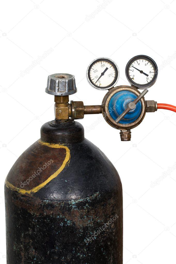 регулятор давления газа с манометром
