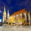 St. Lorenz Church - Stock Photo