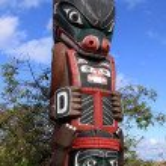 Totem Poles — Stock Photo #10242764