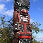 Totem Poles — Stock Photo