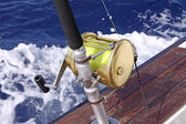 Fishing Reel — Stockfoto