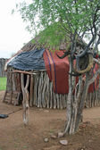 Himba Hut — Stock Photo