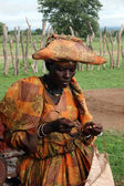 Herero Woman — Stock Photo