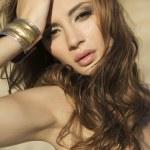 Portrait brunette — Stock Photo #8753471