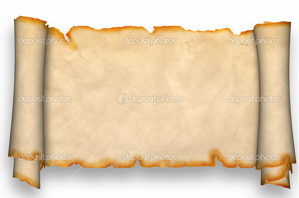Ancient Scrolls Wallpaper Scroll of Antique Parchment