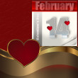 Valentines day background. — Stock Photo