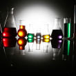 Test tube Scene - Stock Photo