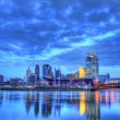 Editorial, Cincinnati Skyline — Stock Photo