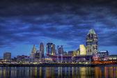 Cincinnati Skyline — Stock Photo