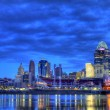 Stock Photo: Dawn, Cincinnati Ohio