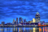Dawn, Cincinnati Ohio — Stock Photo