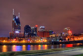 Nashville at Night — Stock Photo