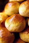 Freshly baked buns — Stock Photo