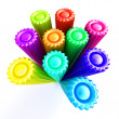 Bright markers — Foto de stock #9717765