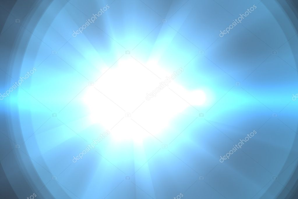 Lens flare abstract background. Asymmetric light rays — Stock Photo #9776795