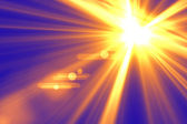 Lens flare abstract background — Stock Photo