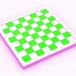 Empty chess board — Stock Photo