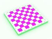 Empty chess board — Stock Photo