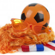 Football madness of Holland — Stock Photo