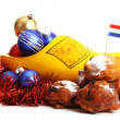 Dutch donuts called Oliebollen — Stock Photo #8061509