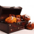 Oliebollen — Stock Photo