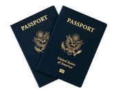 Us passports — Stock Photo