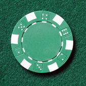 Poker chip — Stockfoto