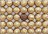 çikolata şekerleme — Stok fotoğraf