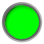 Green paint — Stock Photo