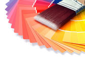 Color swatches — Stock Photo