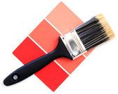 Próbkę koloru czerwonego — Zdjęcie stockowe