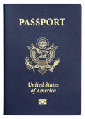 Us passport — Stock Photo