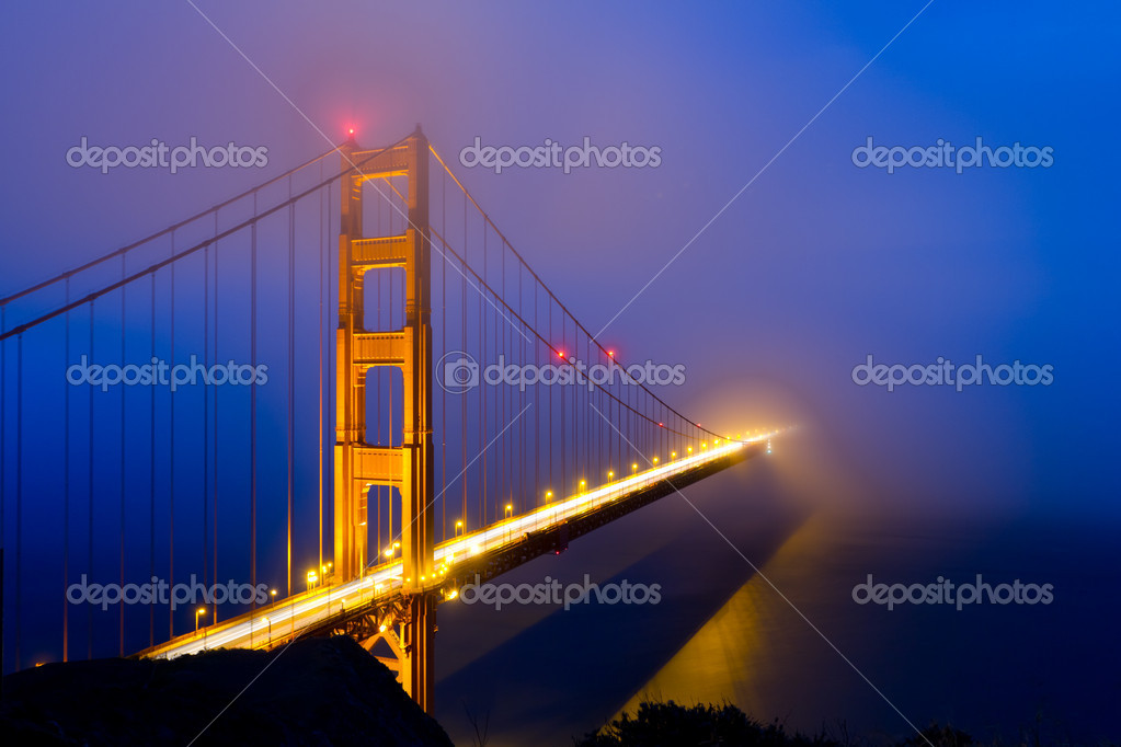 Golden Gate Bridge, San Francisco California   Stock Photo #9676731