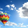 Hot air balloon — Stock Photo #9960837