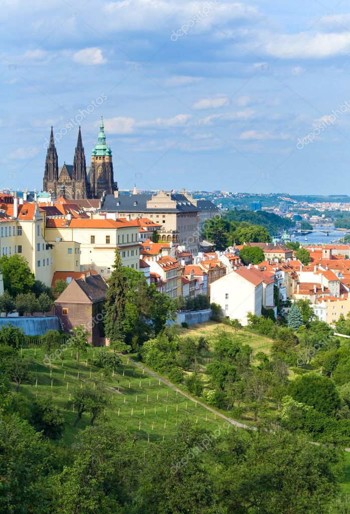 Stare Mesto (Old Town) view, Prague, Czech Republic — Stock Photo #10383427