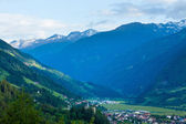 Alps summer village — Stock Photo