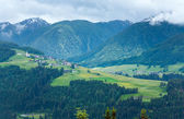 Letní horská země pohled. — Stock fotografie