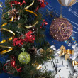 Christmas composition - Foto Stock