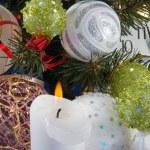 Christmas composition — Stock Photo #7982394