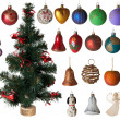 Christmas toys set — Stock Photo #7994601