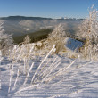 Stock Photo: Winter mountainside (2)