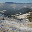 Winter mount panoram (2) — Stock Photo