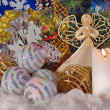 Christmas composition (2) — Foto Stock