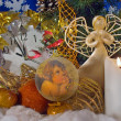 Christmas composition (1) — Stock Photo