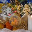 Stock Photo: Christmas composition (1)