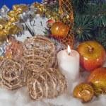 Christmas composition — Stock Photo #7994882