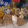 Christmas composition (4) — Stock Photo