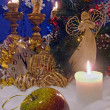 Stock Photo: Christmas composition (10)
