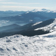 Royalty-Free Stock Photo: Winter mountain panorama